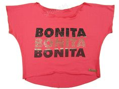 Blusas Femininas | Blusa Cropped Costas Rasgadas Bonita Bonita Bonita Coral  Acesse: http://www.spbolsas.com.br/atacado/ #Regatas #Femininas #Atacado
