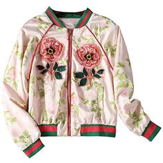 WDPL Women's Embroidery Tiger Flower Baseball Uniform Coa…