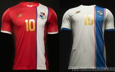 1d0a0c21b Panama 2016 Copa América Centenario Home and Away Soccer Jersey
