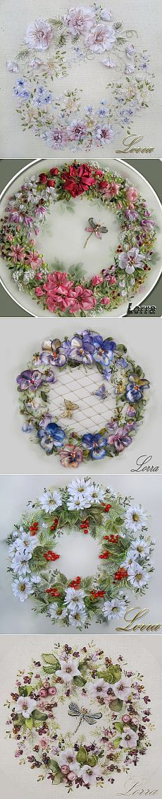 Arts,crafts & Sewing Europe Small Fresh Flowers Ribbon Embroidery Sweet Time Clock Of Living Room Paintings Cross Stitch Watch Home Decor Needlework