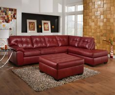 maroon couches in a room | Red Couches, Sofas and Ottomans