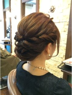 Hairdo Wedding, Wedding Hair And Makeup, Bridal Hair, Hair Makeup, Evening Hairstyles, Wedding Hairstyles, Bridesmaid Hair, Prom Hair, Short Hair Cuts For Women