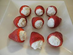 theworldaccordingtoeggface: Sealed with a Cannoli Bariatric Recipes, Healthy Recipes, Cannoli Cream, Strawberry Filling, Protein Pack, Looks Yummy, Cravings, Sweet Tooth, Sweet Treats