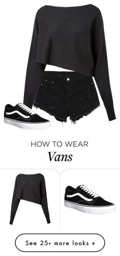 """Untitled #1522"" by street-style-98 on Polyvore featuring Crea Concept and Vans"