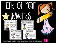 End of Year Awards Bundle