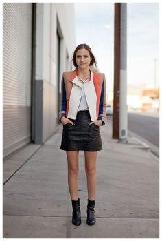 Bethany in LA... seriously sista... well flippin done. that jacket rocks. slaying it. #Streetgeist