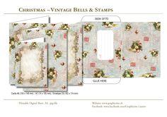 Printable Christmas Cards, Printable Cards, Christmas Christmas, Vintage Christmas, Holiday, Design Studio, Shabby Vintage, Grafik Design, Paper Design