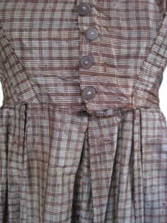 All The Pretty Dresses: Lovely SImple American Civil War Era Day Dress