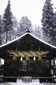 Shinto shrine, Nagano, Japan