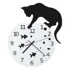 Clock Fish Bowl