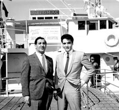 In 1964 Elvis purchased the USS Potomac and gave the yacht  to Danny Thomas For St.Judes Children`s Hospital! A lot Of Elvis`s Charity work was not made public!