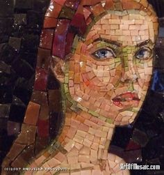 Andjelka Radojevic   Portrait d'une jeune fille