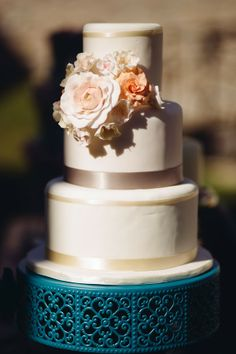 Pink & Teal Shabby Chic Wedding     The Frosted Petticoat