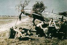 Me-109 E3, France, 1940.