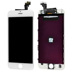 [$95.90] (High Quality LCD Screen + Assembled Touch Screen) Digitizer Assembly for iPhone 6(White)
