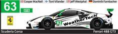 Westphal Racing and Dom Farnbacher. Ferrari 488, Road Racing, Race Cars, Corse, Drag Race Cars, Rally Car
