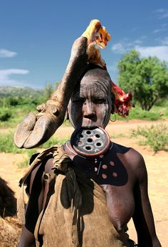 Being a woman in Mursi Tribe..Omo Valley / Ethiopia.
