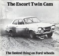 289ee5a2fa Ford Escort Twin Cam Mk1 1968-69 UK Market Foldout Sales Brochure RS