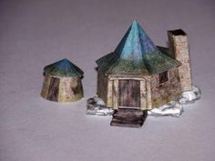 Free Paper Model PDF Download: Hagrid's Hut
