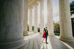 Washington DC Engagement Photos  #DCEngagement #DCPhotography