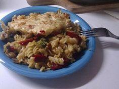 Zapečené těstoviny s brokolicí