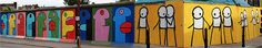 Street Art London is hosting the iconic Berlin street artist Thierry Noir as he makes his London debut. Noir is a forerunner of the modern street art movement, famous for being the first artist to continuously decorate the Berlin Wall illegally from 1984 to pre-empt its ultimate fall in 1989