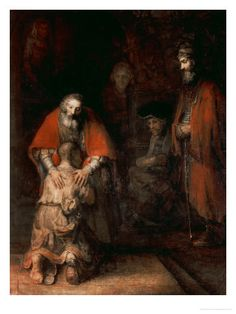 Rembrandt van Rijn- Return of the Prodigal Son, circa 1668-69
