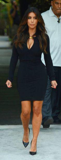 O estilo da... Kim Kardashian - Claudia BartelleClaudia Bartelle
