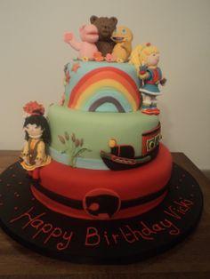 childhood memories - Thundercats, Rainbow, Rosie and Jim and Rainbow Bright! Thundercats, 3rd Birthday, Cake Ideas, Childhood Memories, Rainbow, Bright, Cakes, Desserts, Food