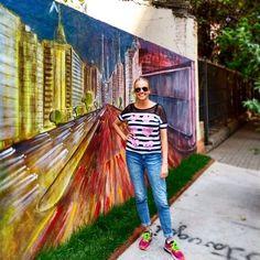 Chocante! Esse meu bairro tá tudo de bom! Só falta minha sacada! Topa @alexsenna ?  #grafitti #grafite #streetart #artederua #murals #grafittilovers #amamosperdizes #perdizespompeia #splovers