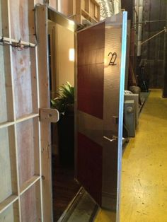 """@ biermann """"One more today, #Castle BTS: this is the doorway across the hall from Castle's loft"""" (20/05/13)"""