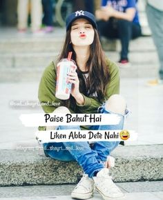 Just girly thing sachi 😉😂😂😂😟😟😟 My Friend Quotes, Best Friend Quotes Funny, Cute Funny Quotes, Funny Jokes, Girl Power Quotes, Crazy Girl Quotes, Crazy Girls, Girls Life, Girly Attitude Quotes