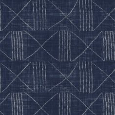 azores in indigo from ralph lauren home #fabric #cotton #blue