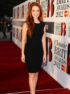 Sierra Boggess | Sierra Boggess: Phantom of the Opera | Classic BRIT Awards 2012: red ...