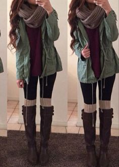 How to reuse clothes that you thought were ruined - Outfits 2019 Outfits casual Outfits for moms Outfits for school Outfits for teen girls Outfits for work Outfits with hats Outfits women Winter Outfits For Teen Girls, Cute Winter Outfits, Winter Fashion Outfits, Winter Clothes, Winter Maternity Outfits, Fall Layered Outfits, Winter Outfits Warm Layers, Fashion Clothes, Warm Fall Outfits