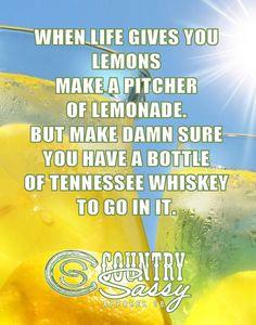 Lemonade Whiskey