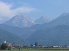 Grintovec in Kočni iz doline