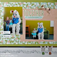 Easter Bunny SOTM Blog Hop | My Scrapbooking Blog #CTMHHelloLovely #ShinHan #ctmheasterbunny