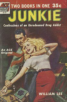 The original cover of Junkie by William Lee