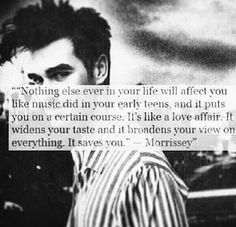 Music saves.