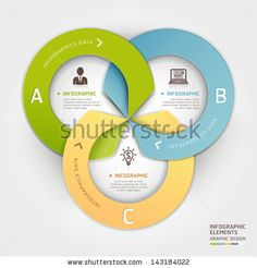 Abstract business circle origami style options banner. Vector illustration. can be used for workflow layout, diagram, number options, step u...