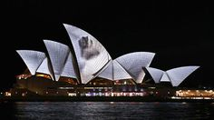 SYDNEY OPERA HOUSE | Facade projection on Vimeo The audiovisual staging of the Sydney Opera House is a poetic homage to the architecture and its constructional concept of the architect, Jørn Utzon. As Utzon said about his architecture he wanted to give it a human expression, the projected video layer in that same sense aims to establish an immediate, architectural expression. Premiered on 25th of May 2012 in the context of Vivid Sydney - Lighting The Sails.
