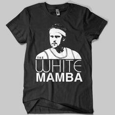 Fantastic Chicago Sports T-Shirts: The White Mamba Tee ($20)