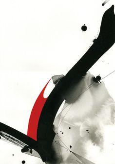 JUN INOUE http://www.widewalls.ch/artist/jun-inoue/ #abstractexpressionism #contemporary #art