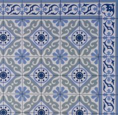 Tiles Pattern Decorative PVC Vinyl Mat Linoleum Rug