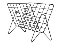 MADE Essentials Moss Wire Magazine Rack, Black