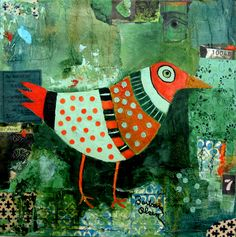 Green Bird © Barbara Olsen