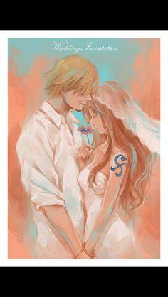 One Piece - Nami x Sanji