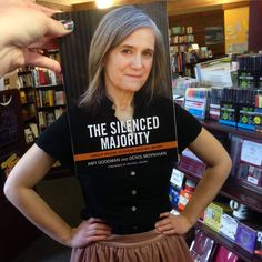 The Silenced majority bookface.