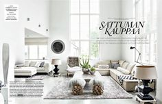 what a lovely finnish home in an old ski factory (via Divaani magazine)!